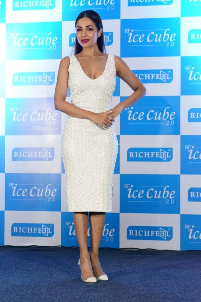 Malaika Arora Announced as Brand Ambassador Of Richfeel in a Press Conference Photos