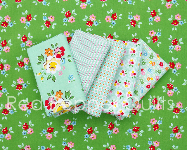 Backyard Roses by Nadra Ridgeway for Riley Blake Designs | Red Pepper Quilts 2016