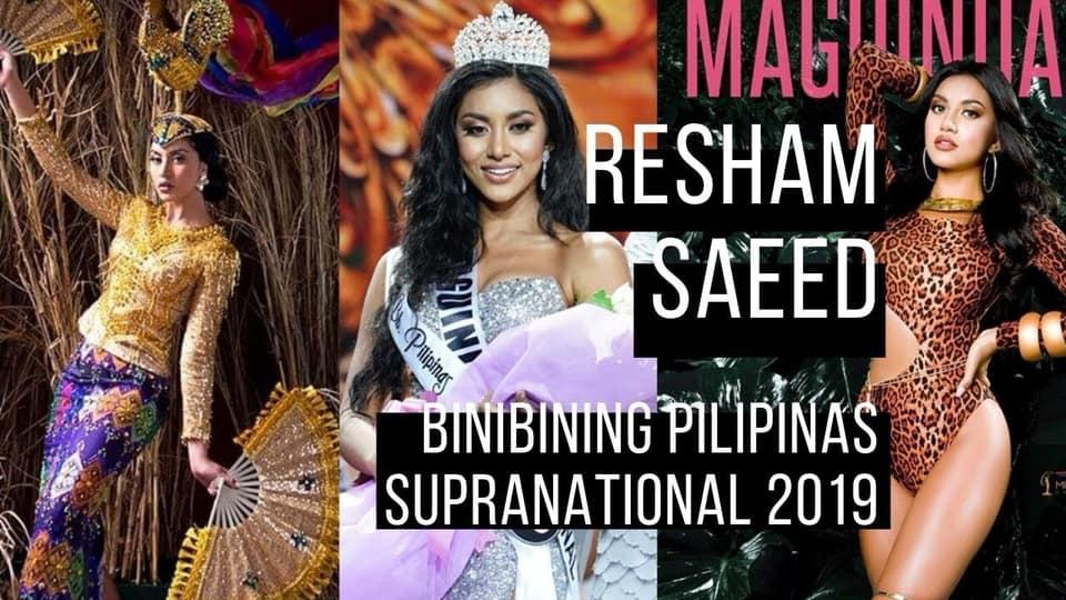 Maguindanao Pride: Resham Saeed crowned Bb. Pilipinas Supranational 2019