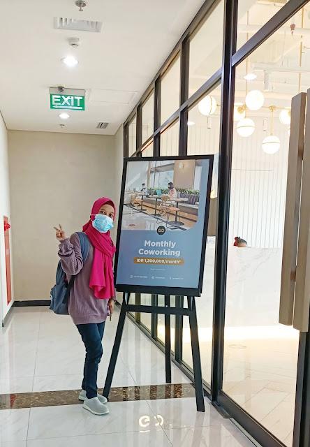 Sewa kantor Gowork BEI Surabaya