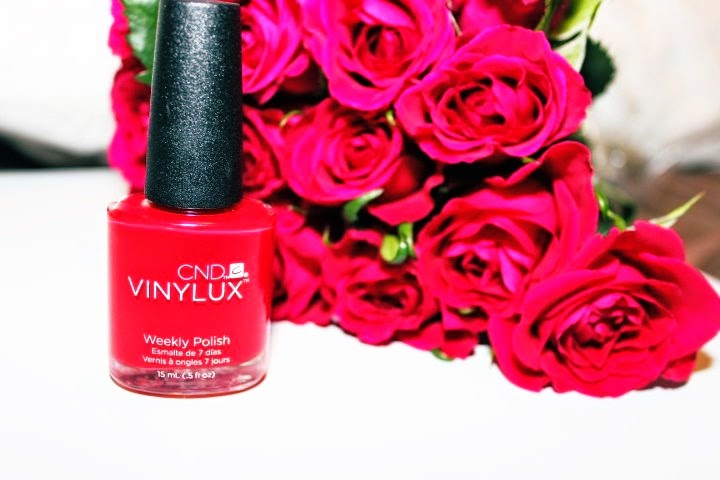 When in doubt wear red…