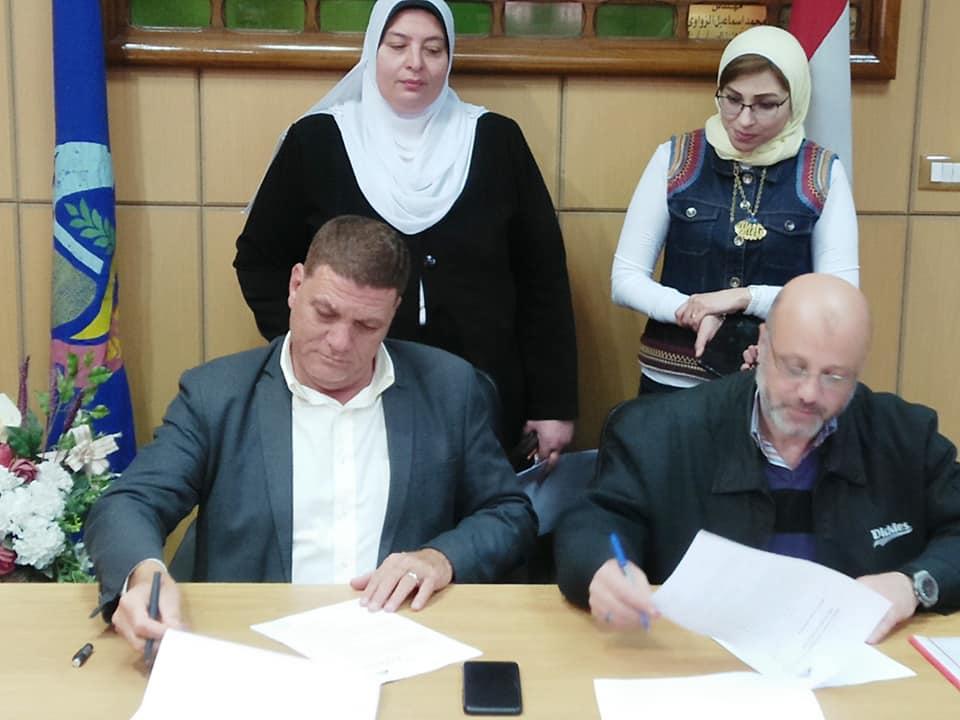 توقيع بروتوكول تعاون بين زراعة البحيرة والهيئة العامة لتعليم الكبار لمحو أمية 400 دارس