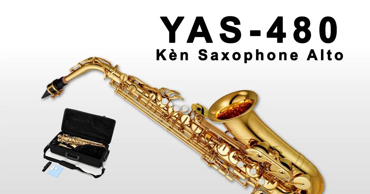 Kèn YAMAHA Saxophone Alto YAS 480