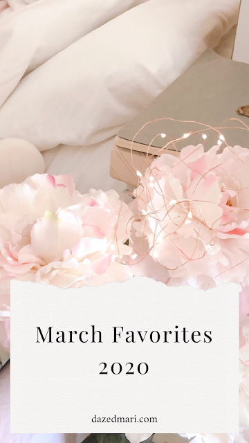 March favorites, fairy lights, flowers