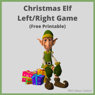 Christmas Elf Left Right Game