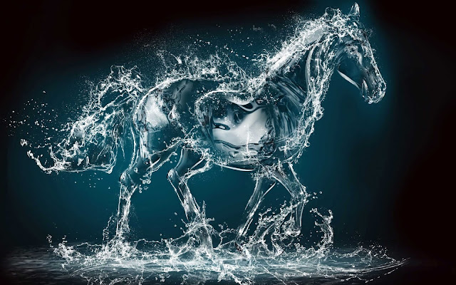 horse wallpaper 3d