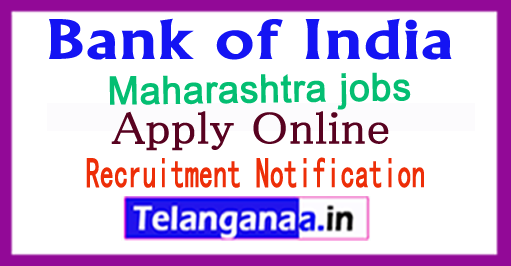 BOI Bank of India Recruitment Notification 2018 Apply