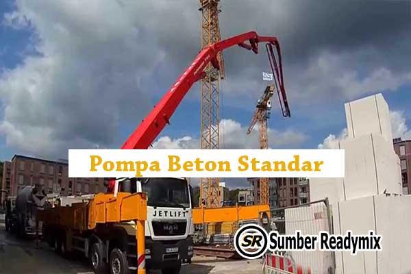 Pompa Beton Standar Bogor