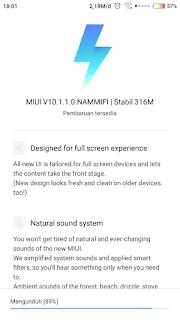 Fitur Baru Miui 10 pada Xiaomi Redmi 4x