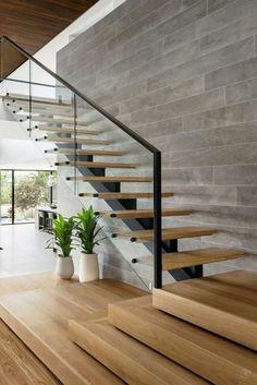 Desain Tangga Rumah Minimalis Modern 2 Lantai