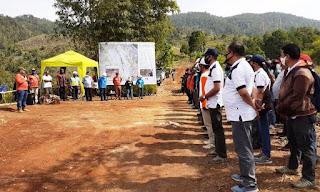 Balai Besar KSDA Papua dan PT. PLN (Persero) Bersama Masyarakat Menanam Pohon di CA. Pegunungan Cycloop