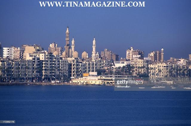 Alexandria skyline picture