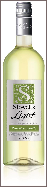 Stowells Light Wine Bottle