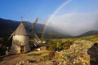 Des Racines et des Ailes sur FR3 Le moulin de Cucugnan