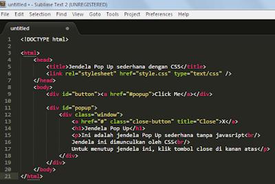 Belajar HTML Bagian 3 : Memilih Aplikasi Text Editor 8
