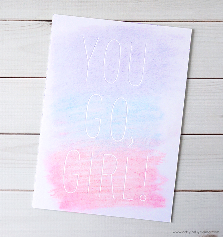 You Go, Girl! Cricut Artwork