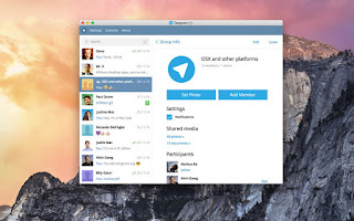 تحميل, برنامج, الشات, والمحادثات, والتراسل, واجراء, المكالمات, تليغرام, لأنظمة, الماك, Telegram ,for ,Mac, اخر, اصدار