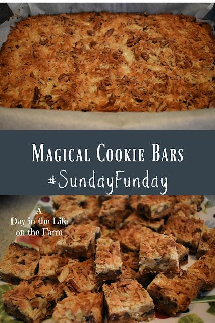 Magical Cookie Bars pin