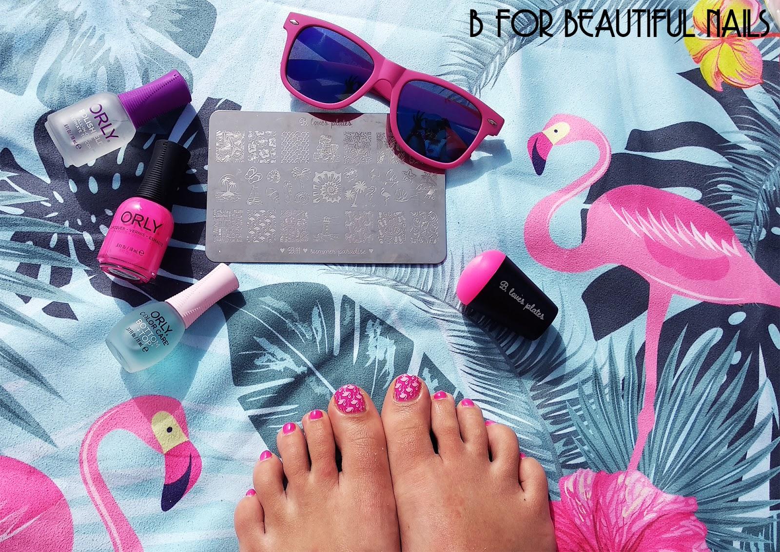 Flamingi Na Wyspach Szczescia B For Beautiful Nails