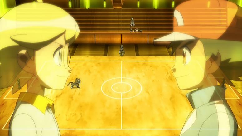 Clemont versus Ash