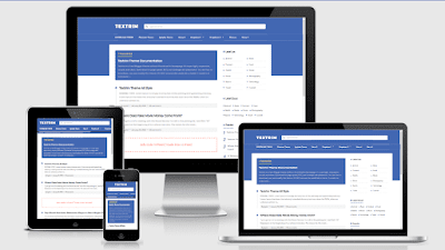 Download Template Textrim v3 Responsive Free