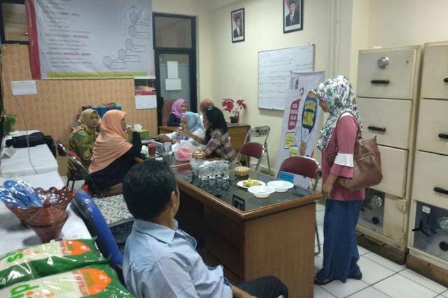 Coaching clinic OK OCE di Kantor Kecamatan Kebayoran Baru, Sabtu (13/1/2018).