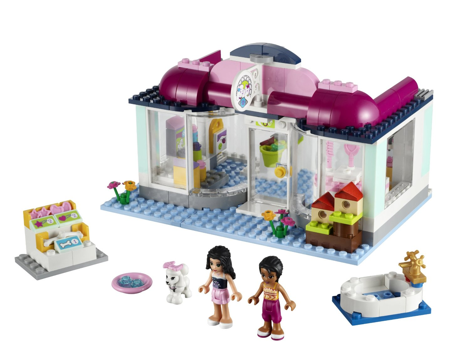 Image Result For How To Build Lego Friends Pet Shop