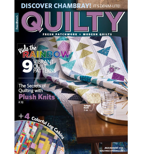 July/August 2018 Quilty magazine