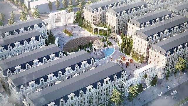Những căn Shop villas đẳng cấp ở Sunshine Helios Ciputra Nam Thăng Long Hà Nội