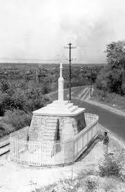 Monumento símbolo da expulsão dos franceses do Maranhão, com ajuda de Nossa Senhora da Vitória