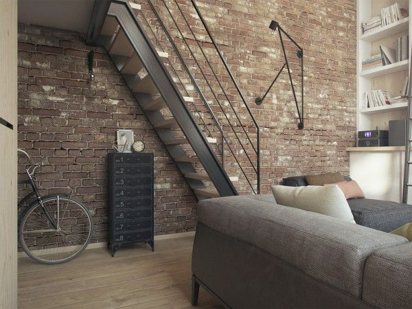 steel with glass staircase design