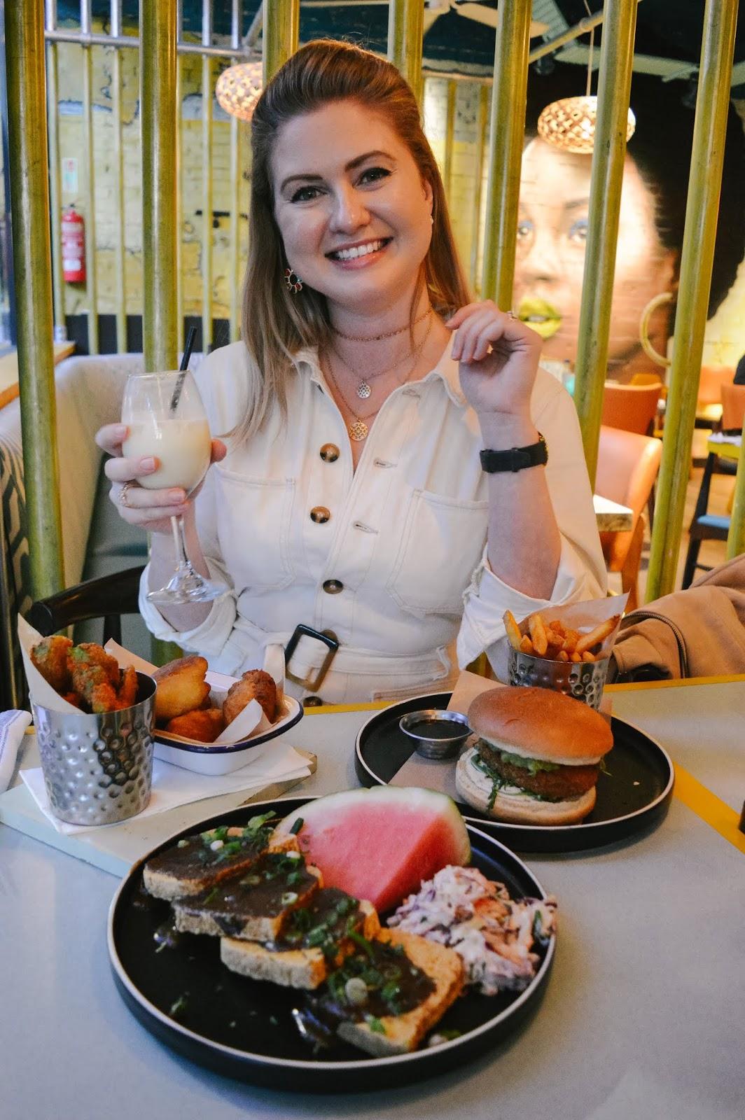 Dalry Rose Blog reviews the vegan menu at Turtle Bay in Winchester