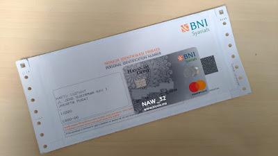Penggantian Kartu ATM BNI Syariah yang telah kadaluarsa