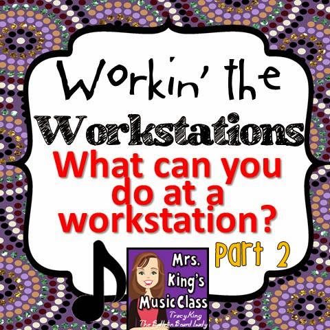 Tips and Tricks for using Workstations or Centers in Your Elementary Music Class -This is the BIG list of things you can do.  Composing, singing, writing, reading, dancing and more are all possible with good planning!