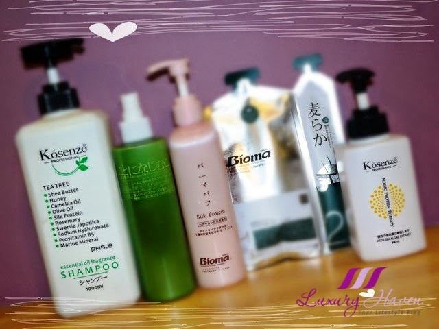 kosenze professional haircare review