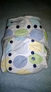 This is Sew me Organics Diaper