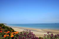 Plages de la cote fleurie en Normandie