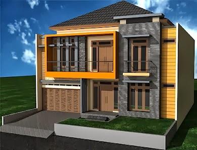 Desain Rumah Minimalis Bertingkat