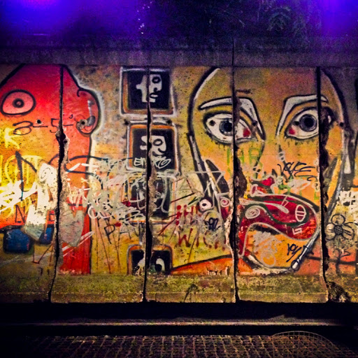 The Berlin Wall on 53rd Street NYC