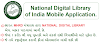 National Digital Library of India Mobile Application.