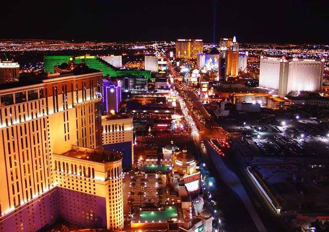 Las Vegas, à noite