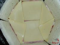 Primera capa de queso