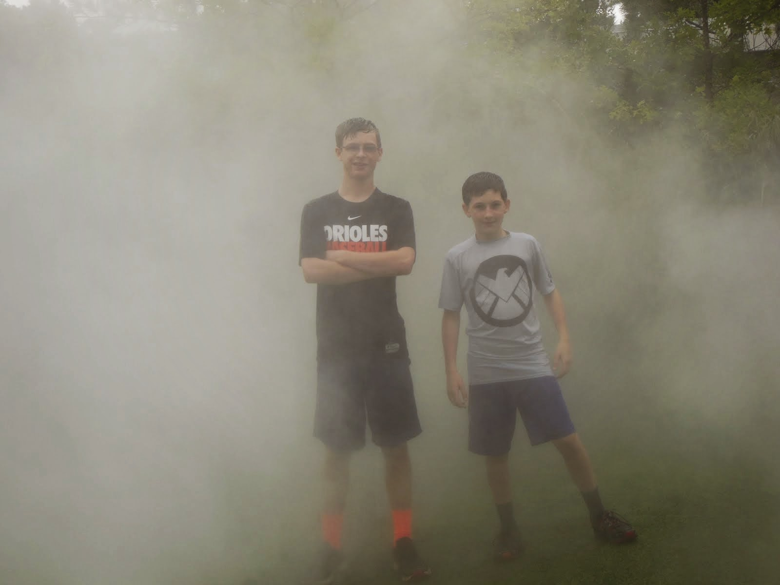 Boys in the Mist