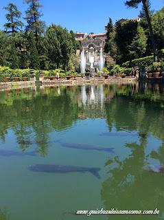 villa deste guia roma portugues bacia carpas - Villa D'Este em Tivoli com guia em português