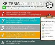 kriteria-kriteria Penerima Whitelist