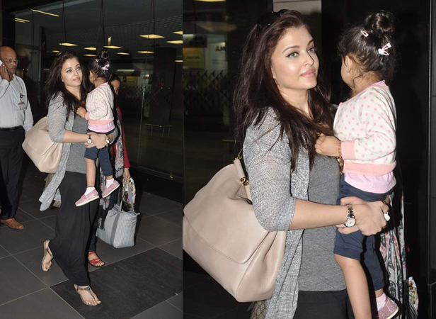 Aishwarya rai daughte Aradhya Bachchan cute photo