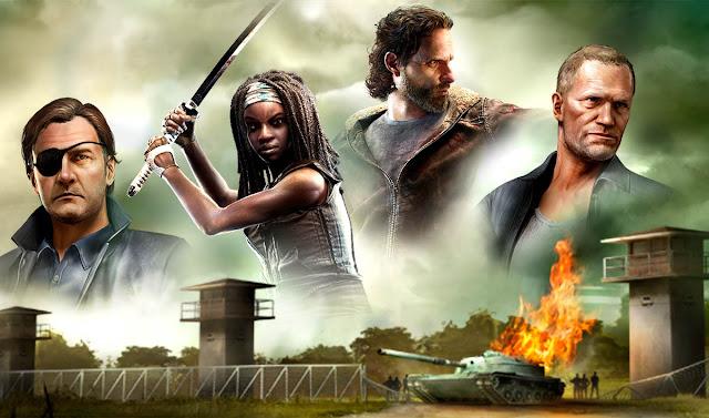 افضل العاب اكشن وحرب وقتال للايفون والاندرويد:The Walking Dead Our World