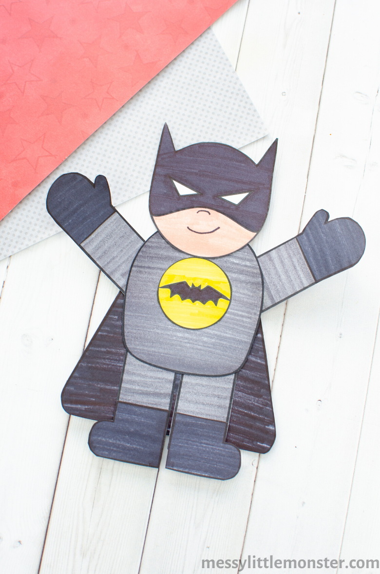 batman craft and template