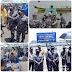 KASAL Laksamana TNI Yudo Margono dan Ketua Komisi I Meutya Hafid Tinjau Vaksinasi Massal Bagi Masyarakat Maritim di Mako Lantamal 1 Belawan