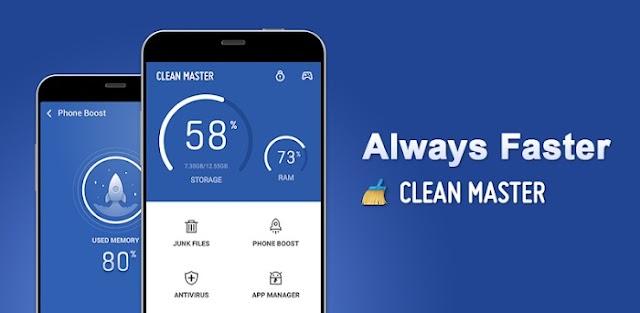 Clean Master Vip 7.3.4 Apk - Công cụ tối ưu hóa điện thoại